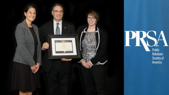 PRworks Wins Silver Keystone Award