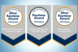 Three awards - 2020 Keystone Awards