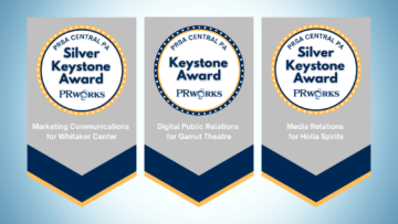 PRworks Earns Three Awards from PRSA Central PA Chapter